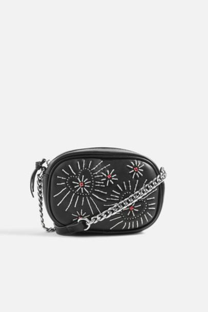 Topshop cross bag black