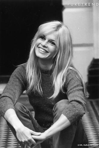 sweater jumper model mod brigitte bardot 60s style