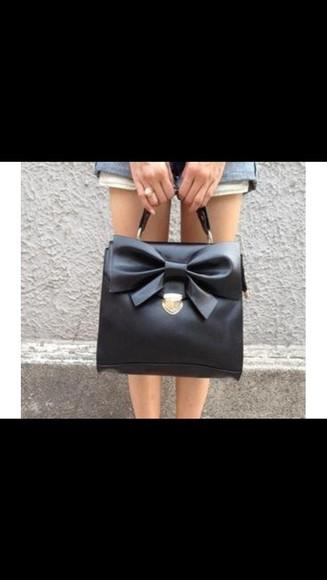handbag bag bow bag