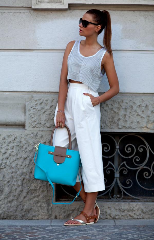 the fashion fruit top pants shoes bag