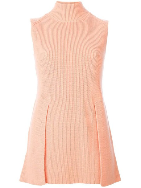 Proenza Schouler tank top top yellow orange