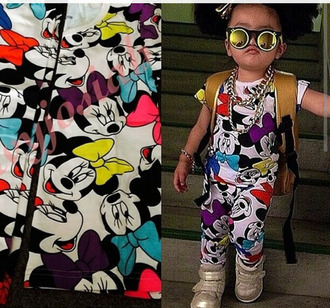 pajamas kids fashion mickey mouse minnie mouse mirrored sunglasses
