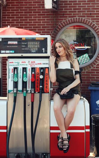 queen of jet lags blogger dress belt tank top skirt