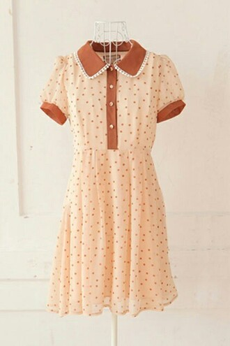 dress polka dots retro