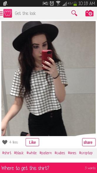 hat black hat felt cute hat forever21 helpmefindthis