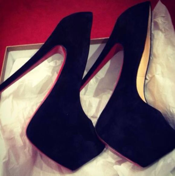 shoes black  high heels red high heels colorful, india westbrook, old school black heels red sole gorgeous high heels, black heels , platforms