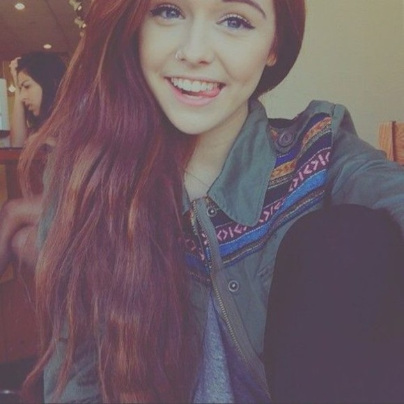 kaki beautiful acacia brinley black t-shirt shirt acacia clark acacia brinley clark aztec perfect eye makeup grey coat cacaboo pants pretty eyes blue acacia brinley #acacia clark jacket ethno