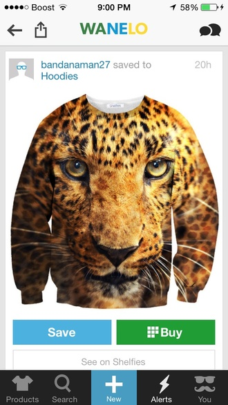 sweater leopard print warm style christmas menswear gift ideas