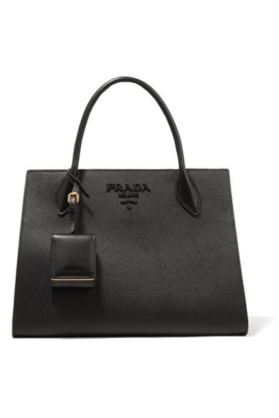 Prada leather black bag