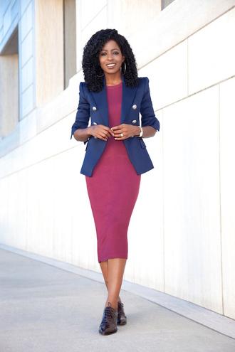 blogger jacket dress bodycon dress blazer