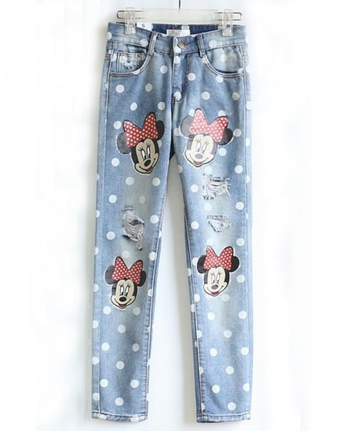 jeans disney disney princess disney minnie mouse boyfriend jeans disney punk