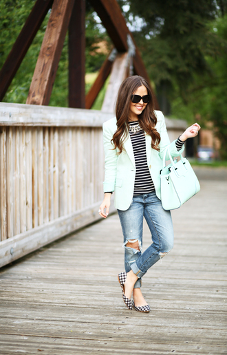 dress corilynn blogger jacket shirt jeans shoes bag sunglasses jewels