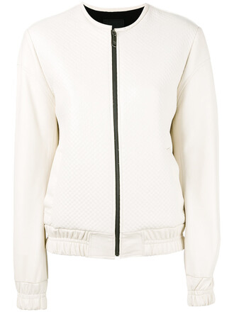jacket bomber jacket women white