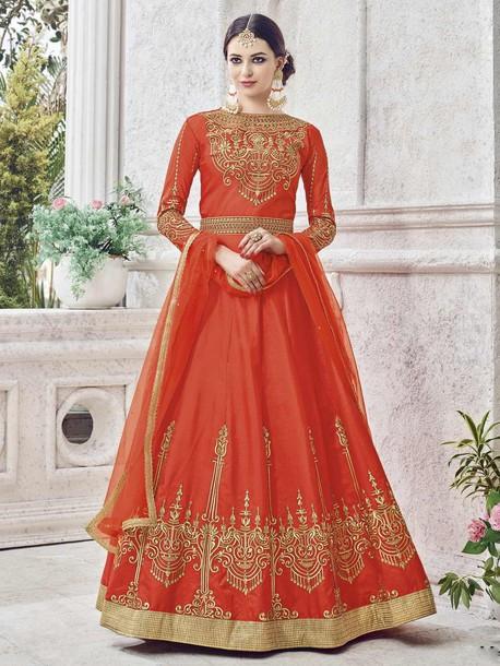 dress anarkali suits ethnic wear women clothing partywear suits wedding wear
