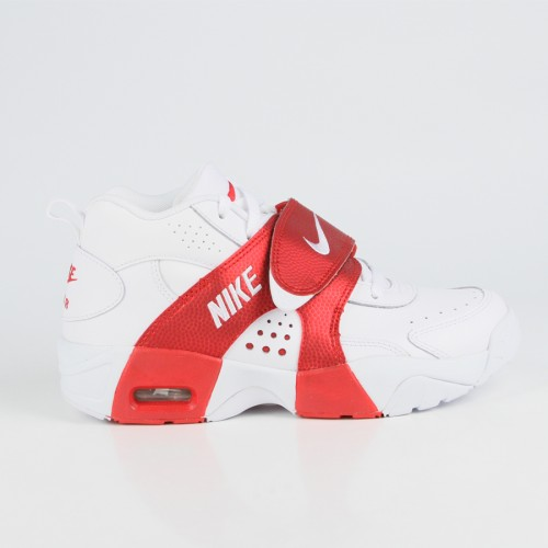 Nike - Grade School Air Veer (White | White | University Red)