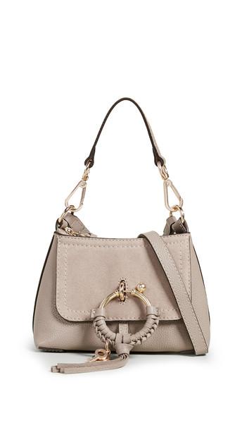 See by Chloe Joan Mini Shoulder Bag in grey