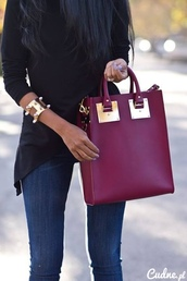 bag,gold,vine,burgundy,blogger,fashion