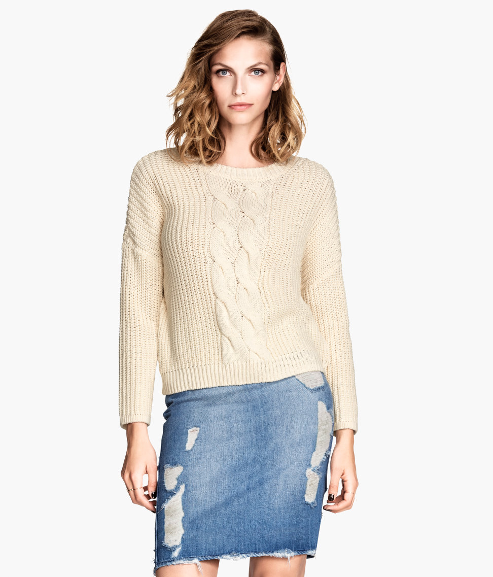 H&M Rib-knit Sweater $24.95