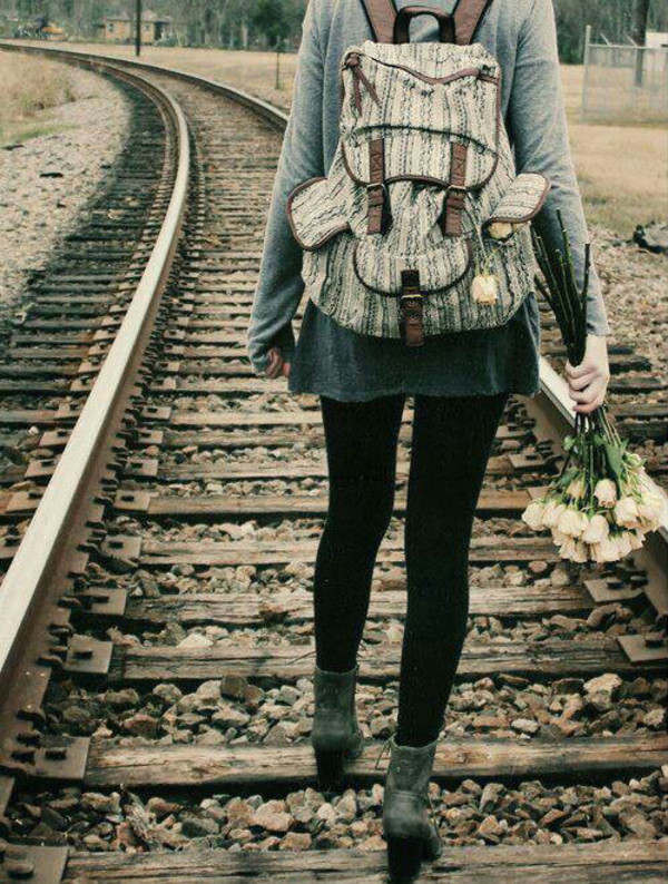 bag hippie hipster boho backpack