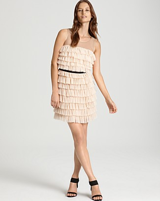 Phoebe Couture Ruffled Lace Dress - Party - Bloomingdales.com