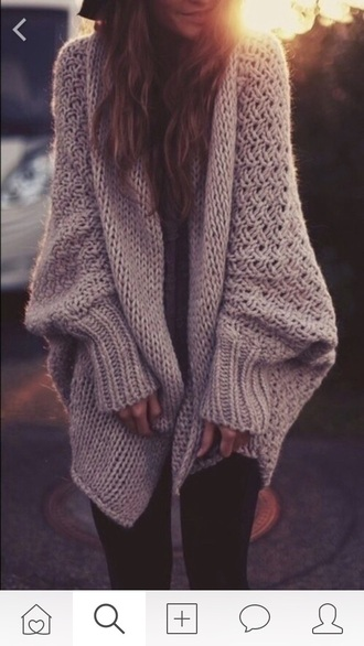 sweater beige sweater beige cardigan oversized cardigan winter outfits autumn/winter fall outfits fall sweater wool sweater