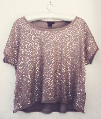 t-shirt paillettes
