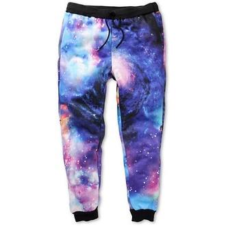 galaxy print joggers style sweatpants zara blouse