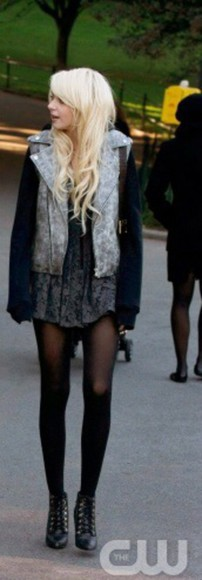 gossip girl jenny humphrey taylor momsen shoes jacket