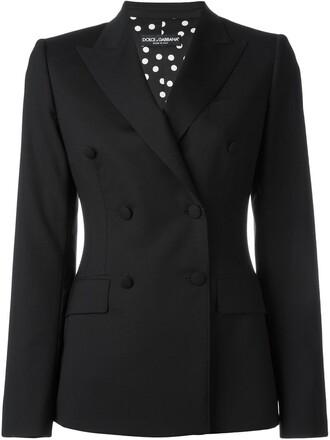 blazer double breasted women spandex black wool jacket