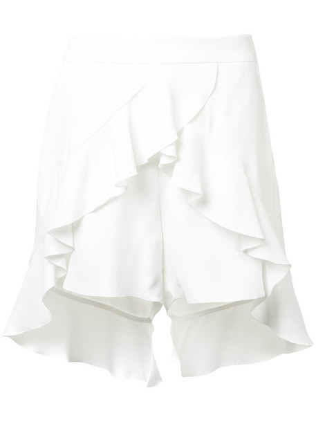 GOEN.J shorts women slit white