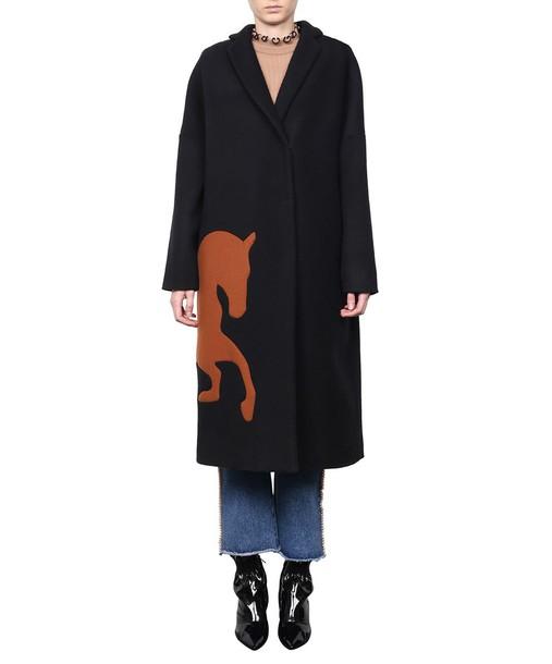 MSGM coat wool coat wool