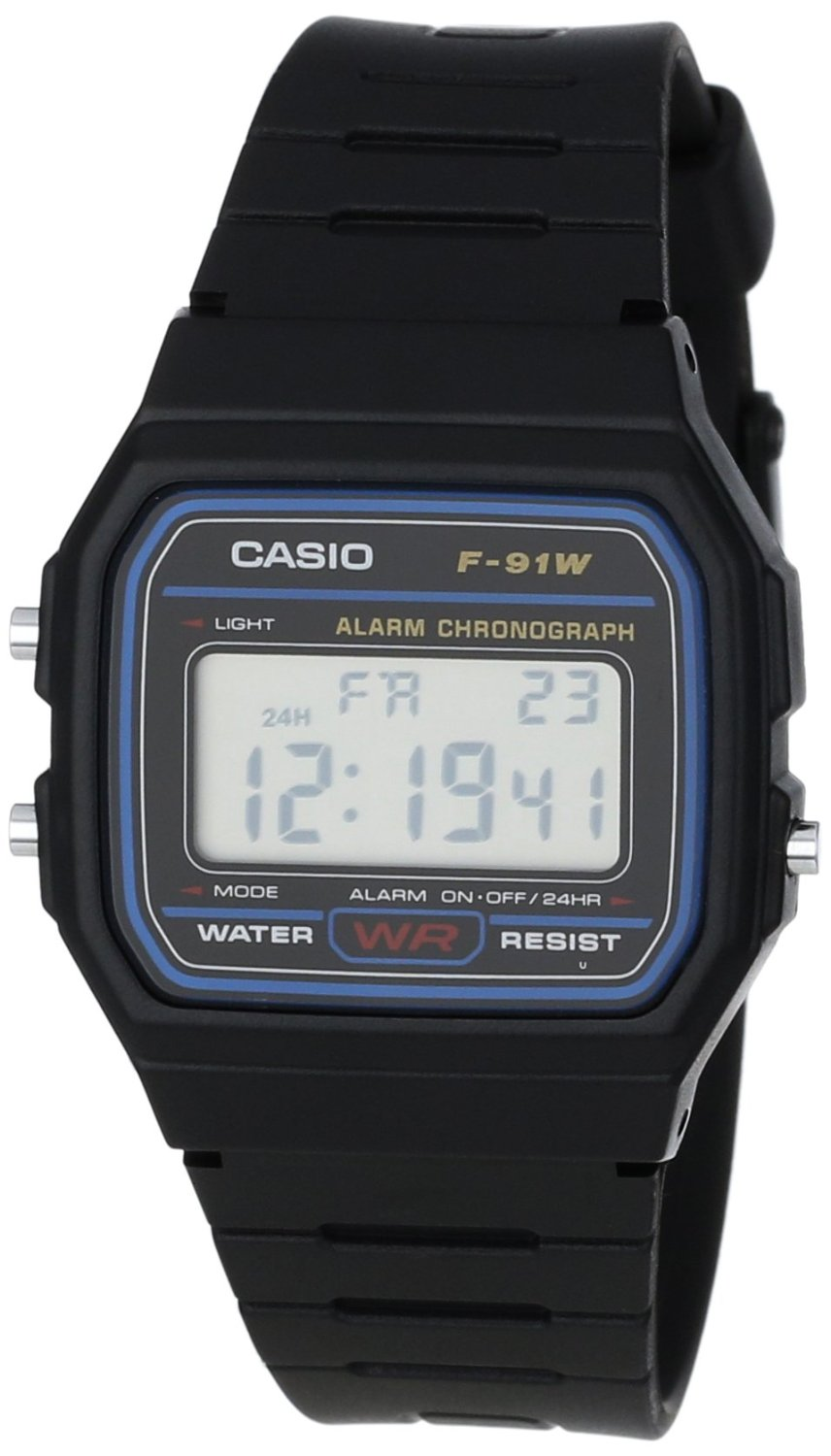 casio f91w 1 classic resin strap digital sport