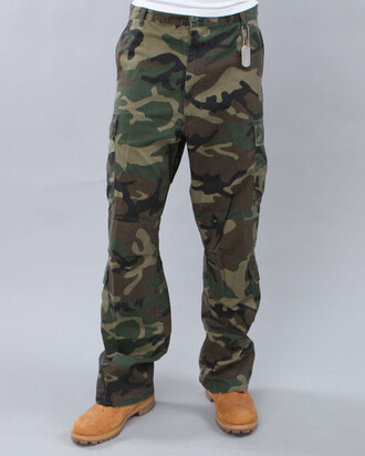 pants cargo camouflage timberlands