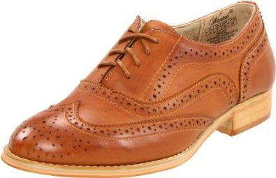 "Amazon.com: Women's Wanted Lace-Up Oxford ""Babe"" - Tan: Shoes"