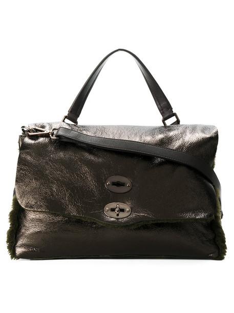 Zanellato - Postina tote - women - Leather - One Size, Green, Leather