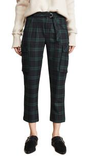 pants,cargo pants,green