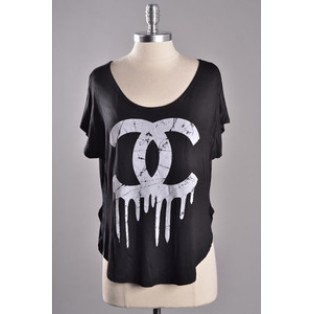 S/L Bleeding Chanel Top