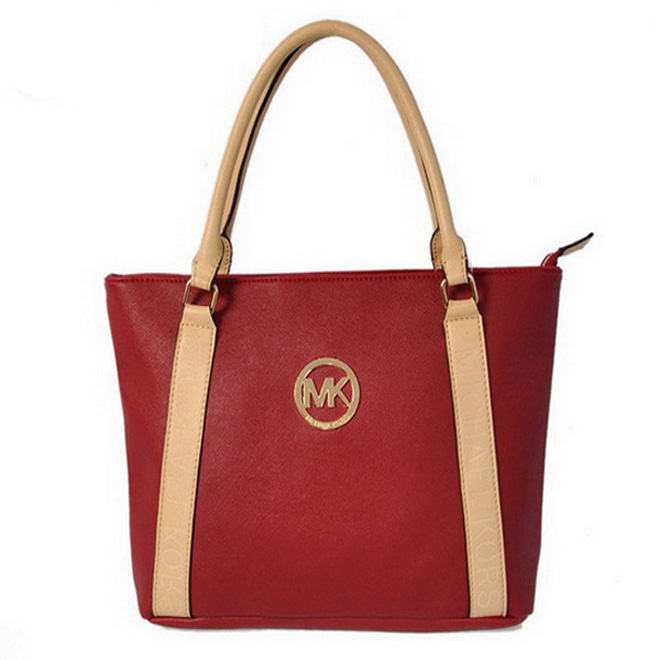 Michael Kors Jet Set Travel Small Red Satchel Bag