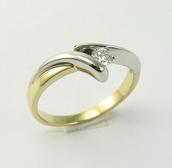 jewels,złoty,diamond ring,gold,impressimo,pierścionek,pierścionki zaręczynowe,pierścionki