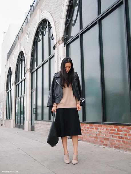 andy heart jacket sweater skirt bag
