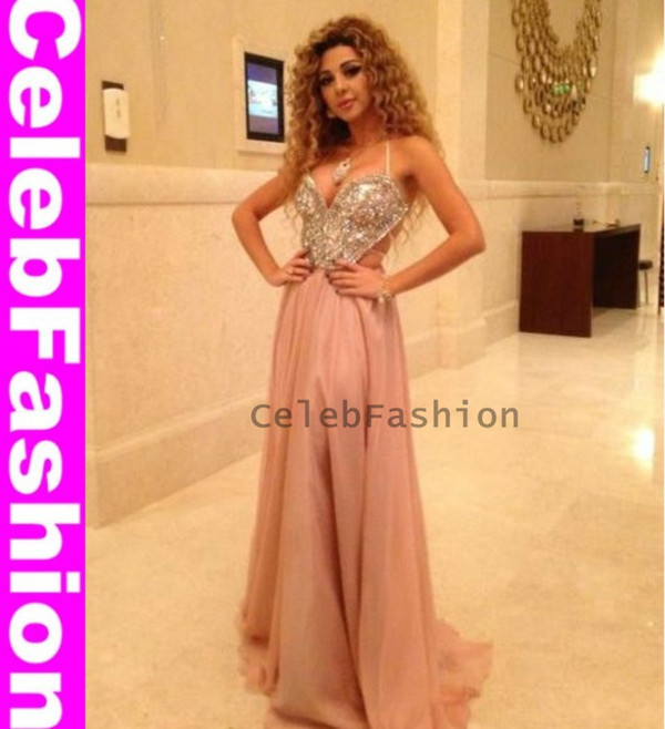 dress myriam fares cute prom dress arabic singer