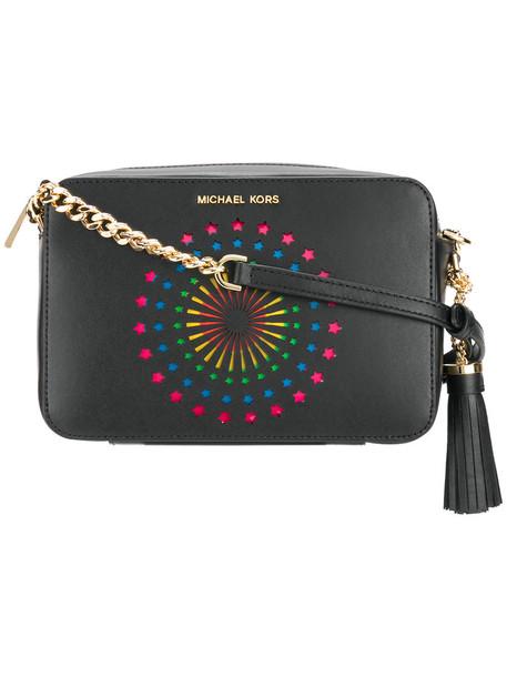 MICHAEL Michael Kors women bag crossbody bag leather black