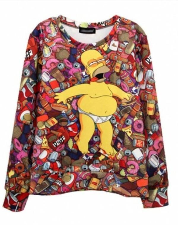Homer simpson hoodie