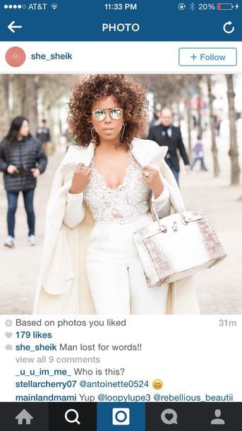 shirt lace laceshirt lace shirt/white skirt top sexy white