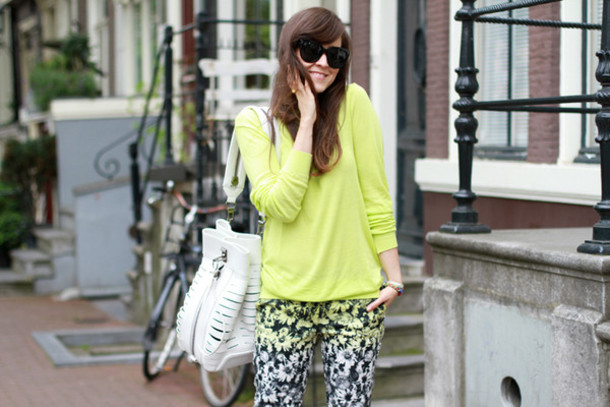 style scrapbook jewels bag pants sweater shoes