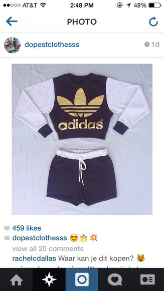 sweater crewneck adidas