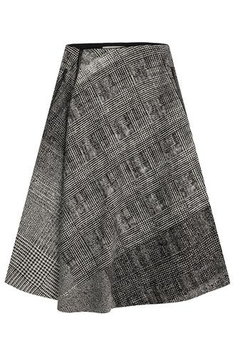 skirt wool multicolor