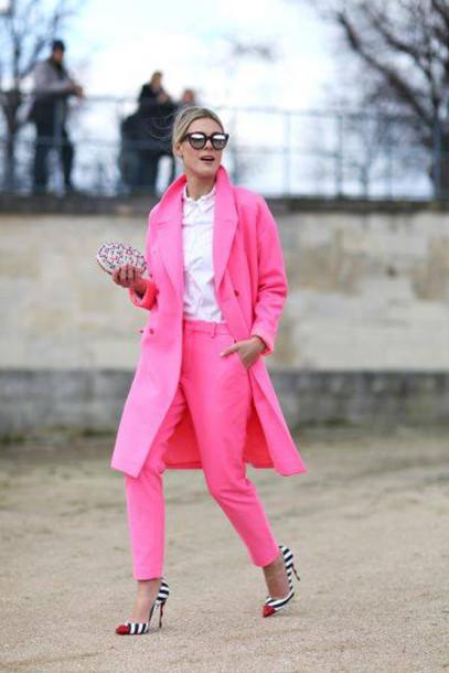 blouse pants shoes jacket sunglasses