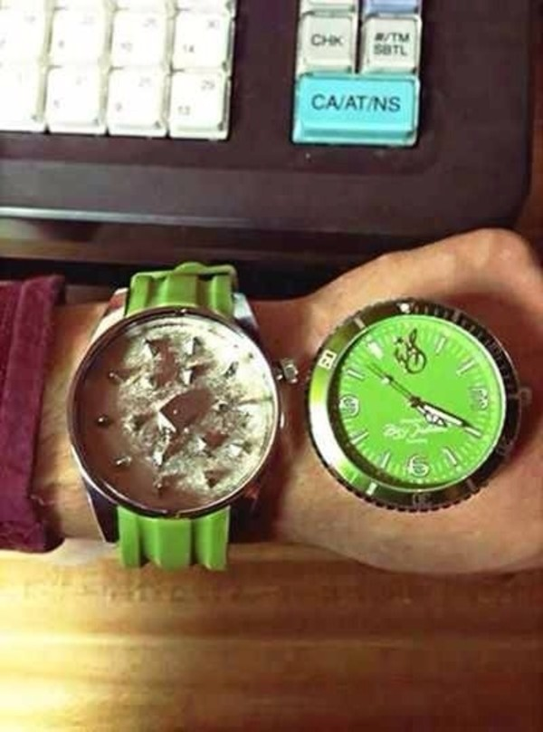jewels green watch grinder 420