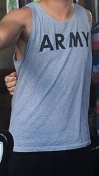 shirt grey tank top